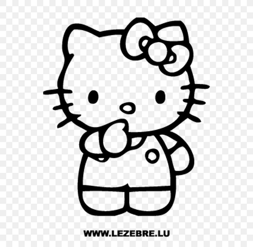 Hello Kitty Coloring Book Colouring Pages Image Sticker ...