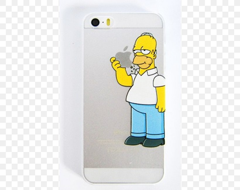 IPhone 6 Plus IPhone 5s IPhone 4S Homer Simpson, PNG, 650x650px ...