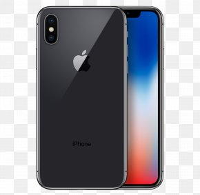 Apple Iphone - IPhone 8 Plus Apple Telephone Space Gray PNG