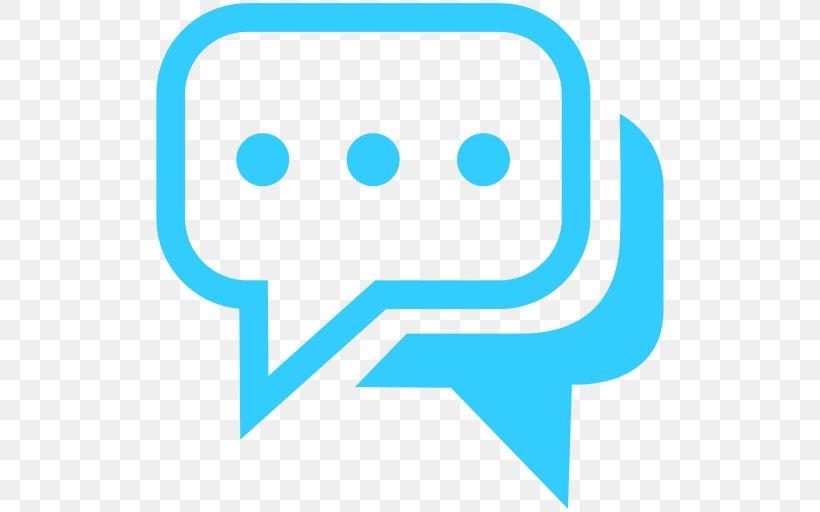 Online Chat Clip Art, PNG, 512x512px, Online Chat, Area, Blue, Clip Art, Conversation Download Free