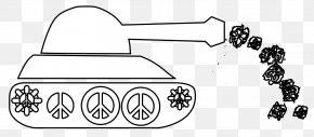 Black And White Earth - Earth Black And White Tank Drawing Clip Art PNG