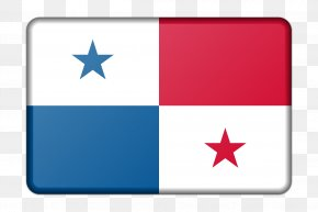 Triangular Flag - Flag Of Panama Flags Of The World National Flag PNG