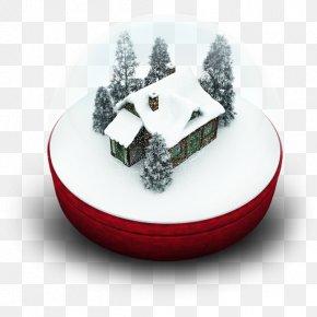Xmas Snow Globe - Christmas Ornament PNG