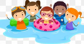 Swim Clipart - Swimming Pool Child Clip Art PNG