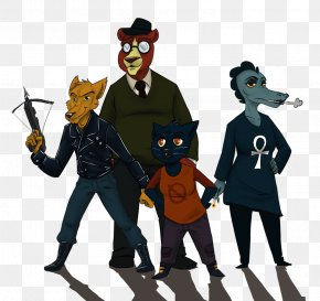 Night In The Woods Art - Night In The Woods DeviantArt Fan Art Game PNG