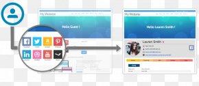 Social Media - Social Media Social Login LinkedIn Social Networking Service PNG