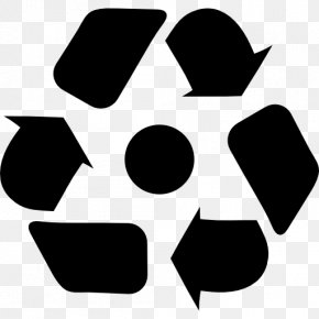 Recycling-symbol - Paper Recycling Symbol Plastic Reuse PNG