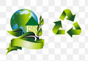 Vector Arrow Earth - Ecology Environmental Protection Euclidean Vector PNG