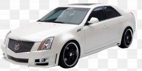 White Cadillac Sedan - 2010 Cadillac CTS-V 2008 Cadillac CTS Car Cadillac DTS PNG