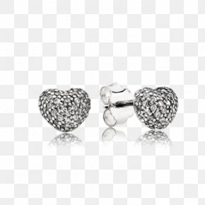 Pandora - Earring Pandora Cubic Zirconia Charm Bracelet Jewellery PNG