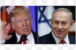Donald Trump - Benjamin Netanyahu Donald Trump White House Prime Minister Of Israel PNG