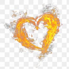 Heart Fire - Fire Flame Light PNG