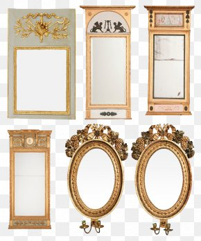 Creative Mirror - Mirror Light Picture Frame Wall PNG