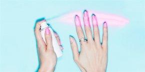 Nail - Nail Polish Aerosol Spray Manicure Nails Inc. PNG