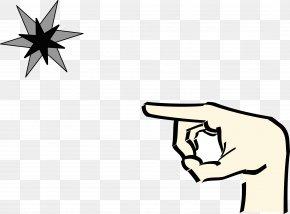 Pointing - Index Finger Clip Art PNG