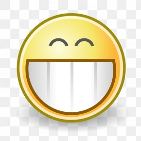 Grinning Smiley - Smiley Face Emoticon Clip Art PNG