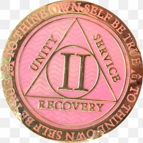 Coin - Alcoholics Anonymous Sobriety Coin Plating PNG