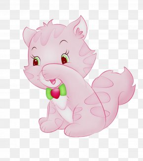 Tail Animal Figure - Cartoon Pink Clip Art Animal Figure Tail PNG