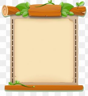 Fresh And Cute Game UI Border - User Interface Game Clip Art PNG