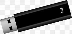 Usb Flash Drive - USB Flash Drive Clip Art PNG