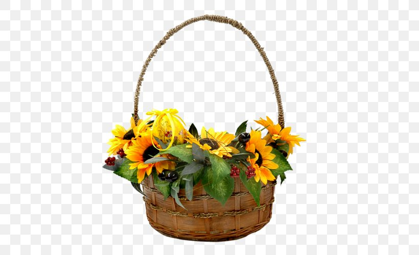 Basket Cut Flowers Image, PNG, 500x500px, Basket, Ciceksepeticom, Cut Flowers, Floral Design, Floristry Download Free