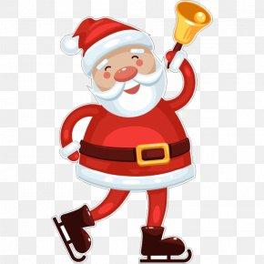 Santa Claus - Santa Claus Christmas Ornament Ded Moroz Deer PNG