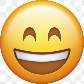 Emoji - Emoji Smiley Happiness IPhone Emoticon PNG