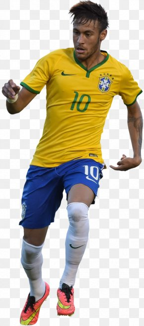 Neymar - 2014 FIFA World Cup Neymar Brazil National Football Team Jersey PNG