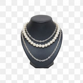 Pearl Necklace Display - Necklace Jewellery Pearl U9996u98fe PNG