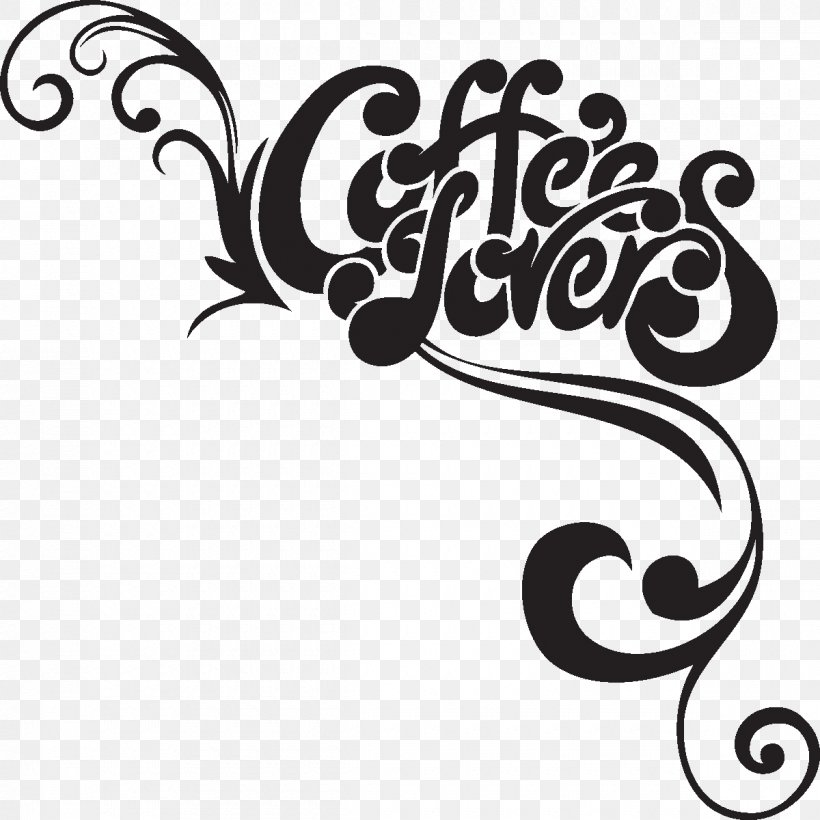 Coffee Cafe Wall Decal Sticker Clip Art Png 1200x1200px Coffee Art Artwork Bar Black And White