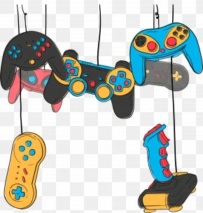 Vector Gamepad - Video Game Game Controller Joystick Online Game PNG