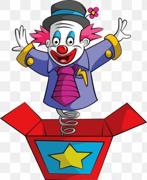 Box Clown - Joker Clown Jack-in-the-box Stock Photography PNG
