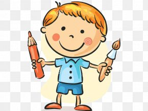 Child - Paintbrush Child Drawing Painting PNG
