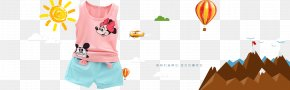 Summer Children's Clothing Explosion Models Taobao Promotional Posters - Poster Taobao Promotion PNG