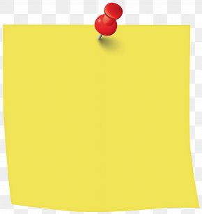 Paper Product Yellow - Sticky Note PNG