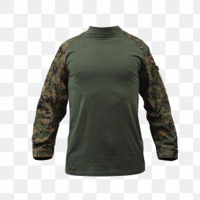 T-shirt - T-shirt Army Combat Shirt U.S. Woodland Army Combat Uniform PNG