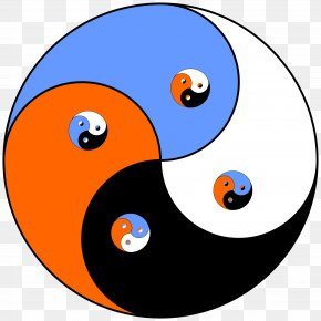Yin Yang - Yin And Yang Unity Of Opposites .de Black And White .net PNG