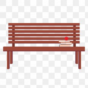 Vector Park Chair - Bench Computer File PNG