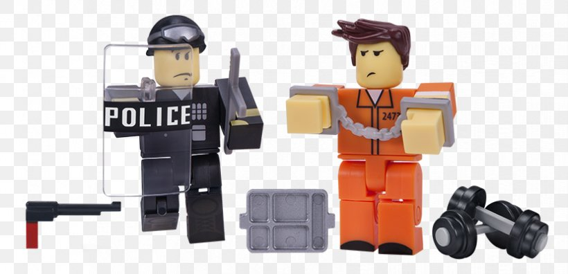 Action Toy Figures Roblox Prisoner Game Png 828x400px Action