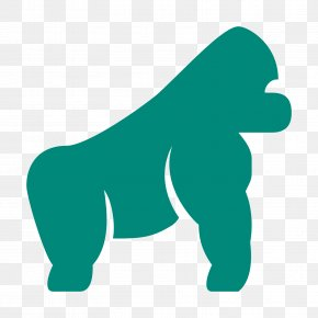 Gorilla - Gorilla Canidae Leopard Clip Art PNG