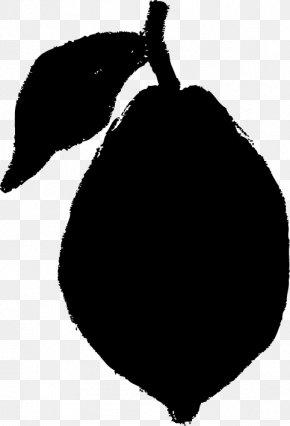 Black Lemon - Black And White Lemon PNG