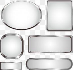 Metal Texture Title Bar Vector - Euclidean Vector Metal PNG