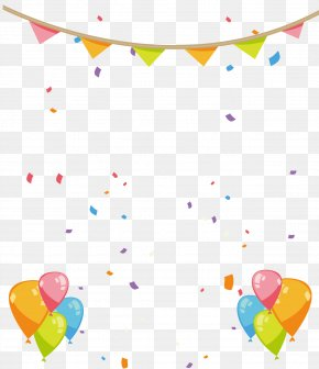 Hand Painted Birthday Party Decorations - Party Birthday PNG
