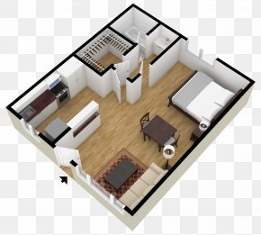 House - House Plan 3D Floor Plan Square Foot PNG