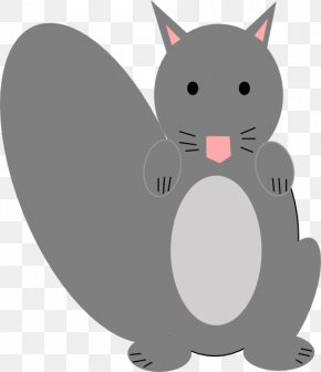 Squirrel - Eastern Gray Squirrel Raccoon Clip Art PNG