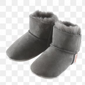 Boot - Snow Boot Shoe Leather Fur PNG