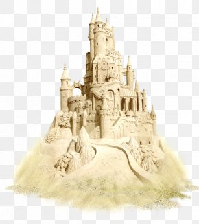Sand Castle - Sand Art And Play Beach Clip Art PNG