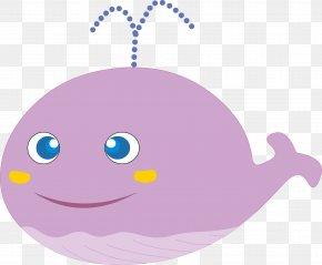 Cute Little Cartoon Dolphin - Dolphin Cartoon PNG