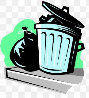 Trash Can - Rubbish Bins & Waste Paper Baskets Bin Bag Recycling Clip Art PNG