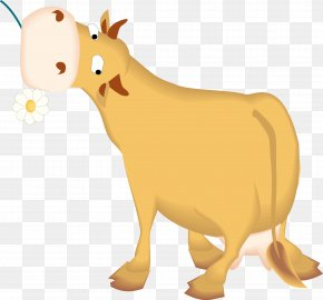 Cow Vector - Cattle Animation Child PNG